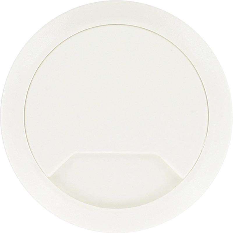 3x Kabeldoorvoer wit 60 mm