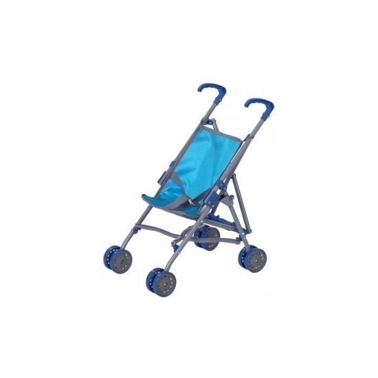 Blauwe poppen wagen voor meisjes