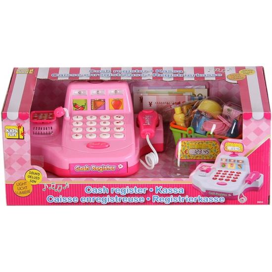 Compleet winkel speelsetje roze