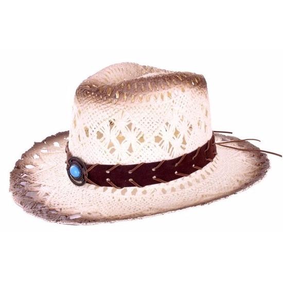 Cowboyhoed Ibiza van stro