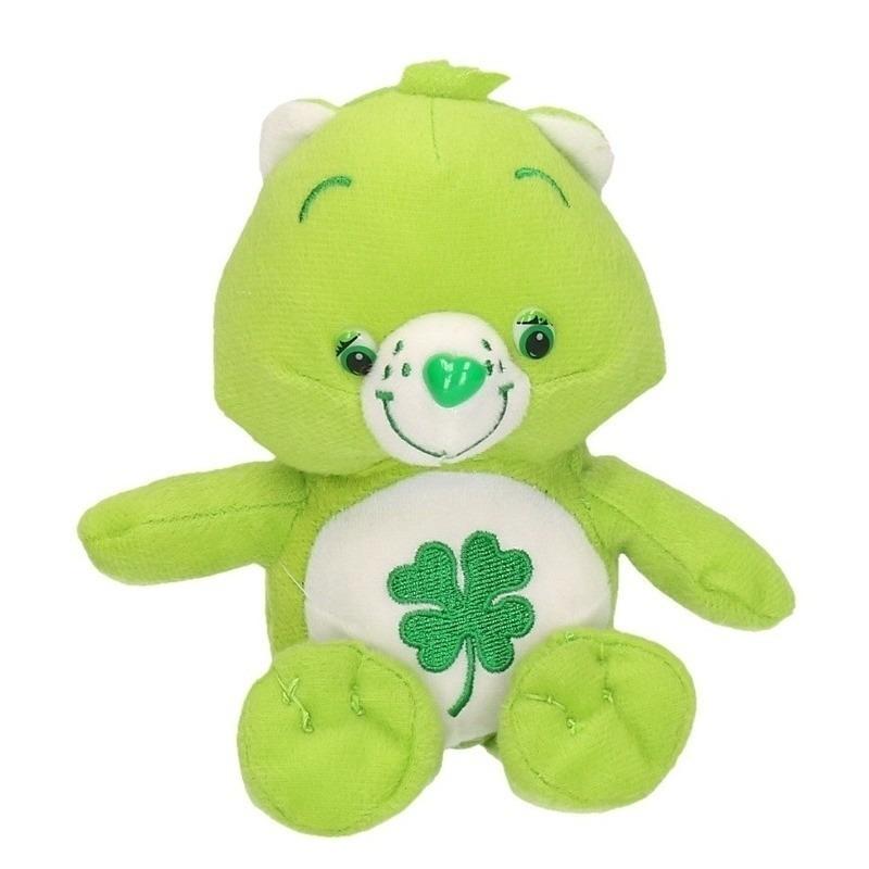 De Troetelbeertjes knuffel groen 18 cm