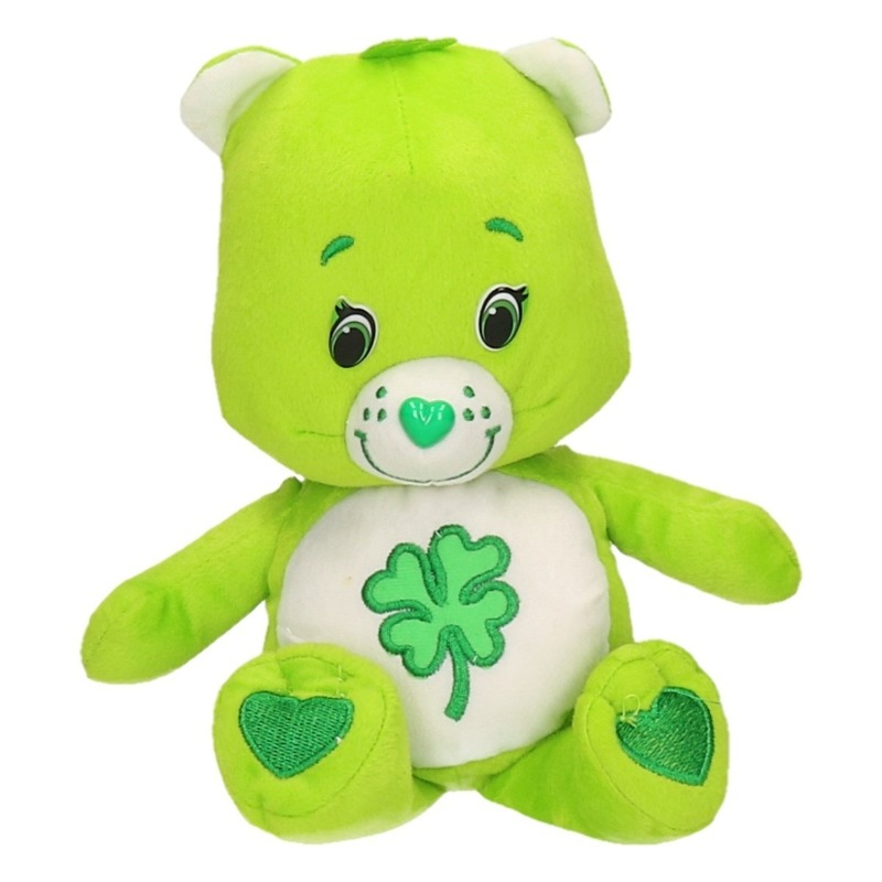 De Troetelbeertjes knuffel groen 24 cm