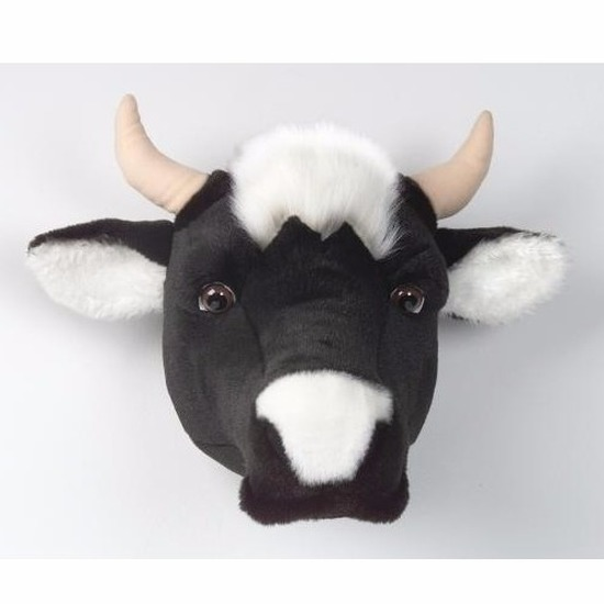 Decoratie kop koe voor aan de muur