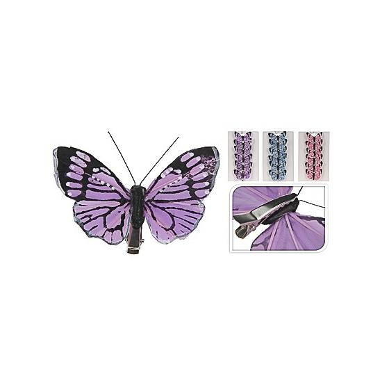 Decoratie vlinders blauw
