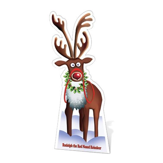 Decoratiebord Kerstmis rendier