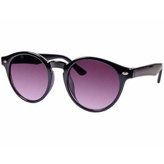 871841ff8d2ac8 Zwarte ronde Clubmaster zonnebril model 7001