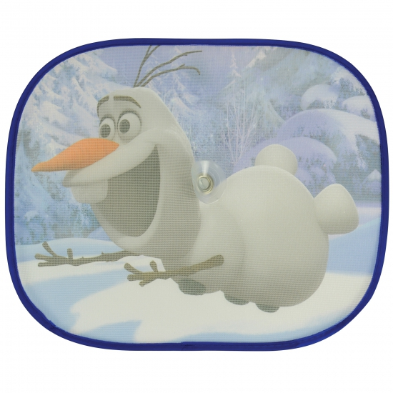 Frozen Olaf zonneschermen 2 stuks