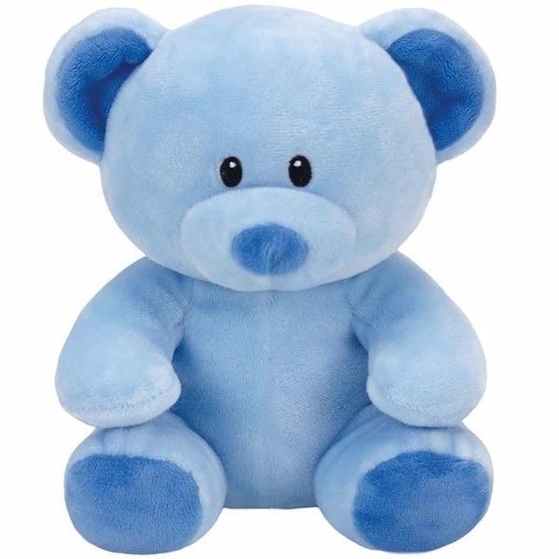 Geboorte jongetje knuffel Ty Baby beer Lullaby 24 cm