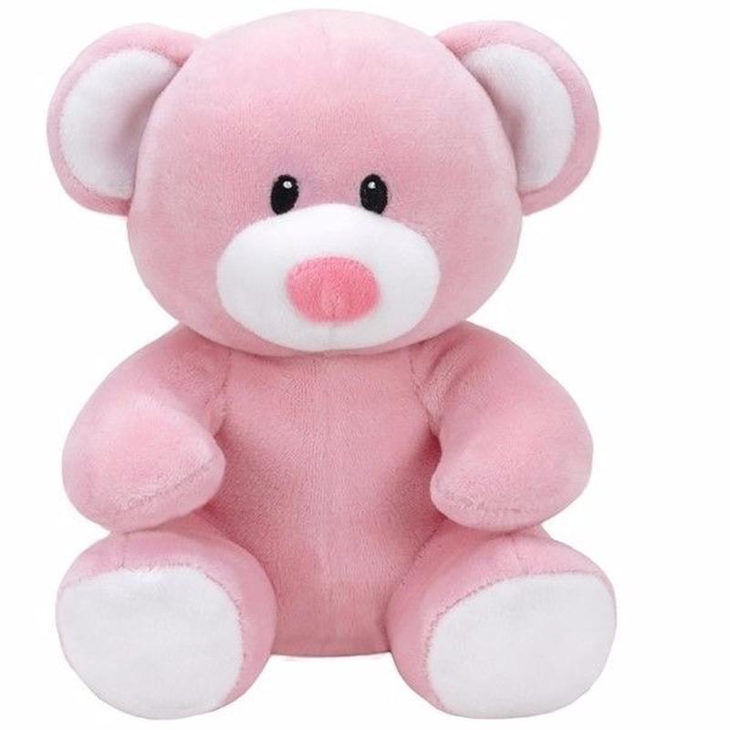 Geboorte meisje knuffel Ty Baby beer Princess 24 cm