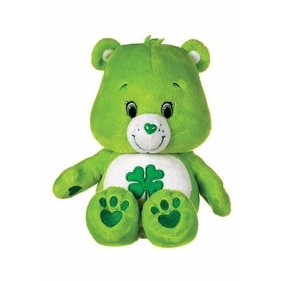 Groene Care Bears knuffel 22 cm
