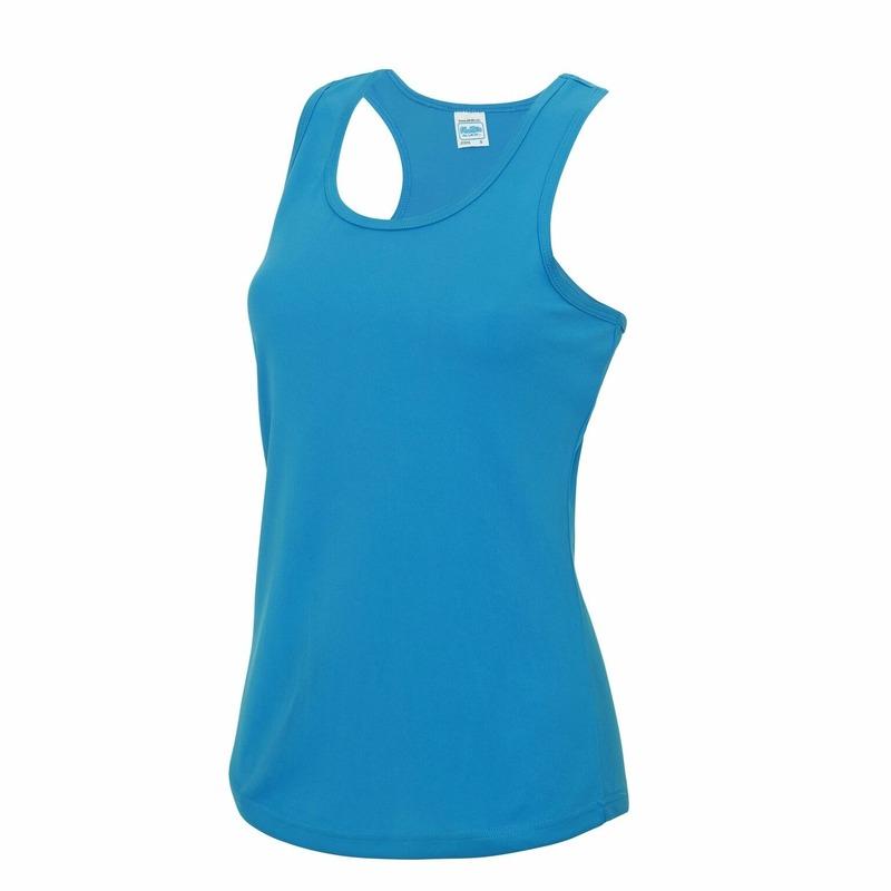 Hardloopkleding blauwe dames singlet