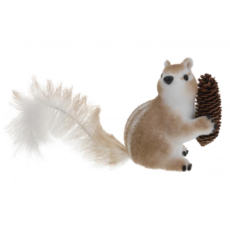 Herfst decoratie eekhoorn type 3