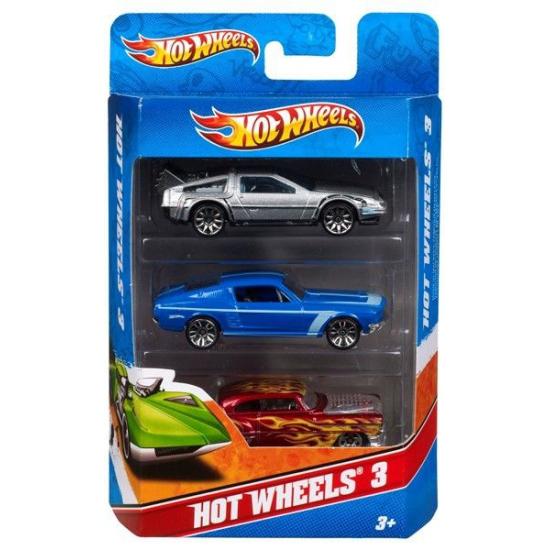 Hot Wheels speelgoed autootjes 3 x