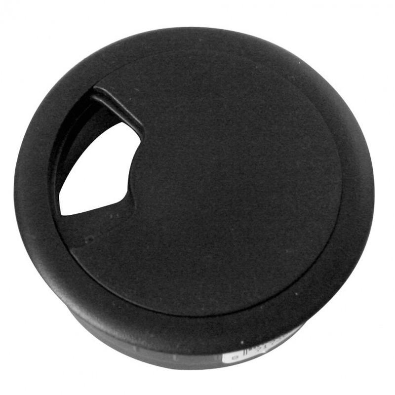 Kabeldoorvoer zwart 60 mm