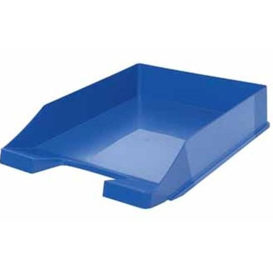 Kantoorartikelen postbak blauw A4