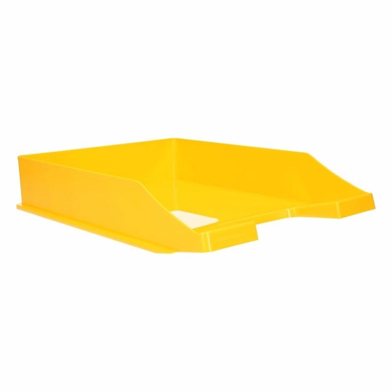 Kantoorartikelen postbak geel A4