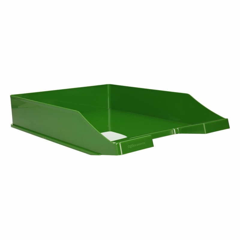 Kantoorartikelen postbak groen A4