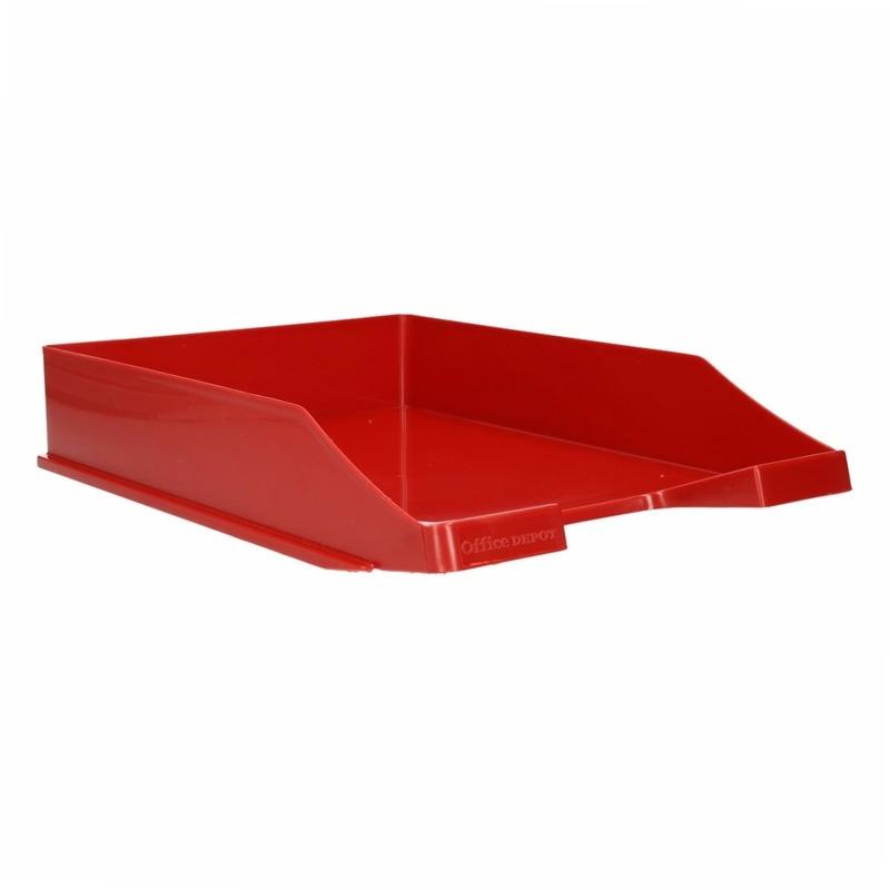 Kantoorartikelen postbak rood A4