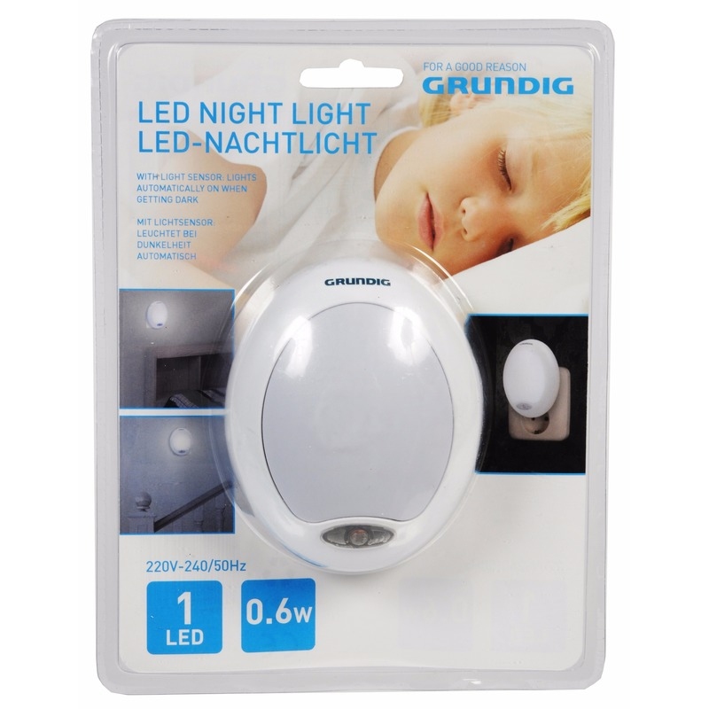 Kinderkamer nachtlampje wit LED