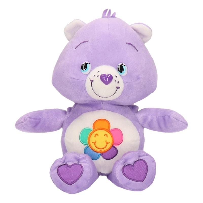 Lila Care Bears knuffel 24 cm