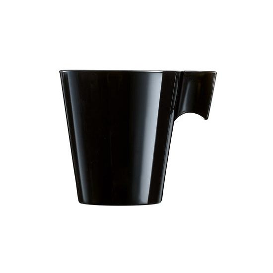 Lungo koffie-espresso bekers zwart