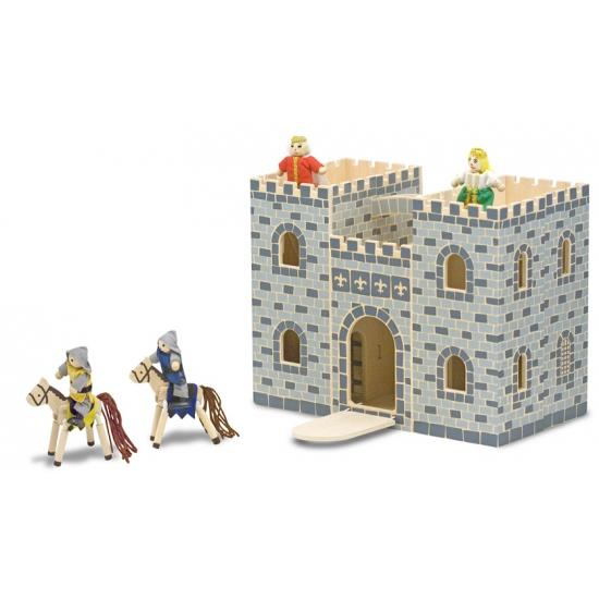 Luxe speelgoed kasteel van hout
