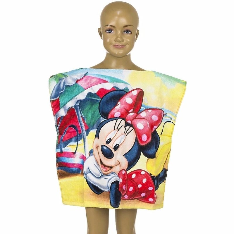 Minnie Mouse kinderponcho