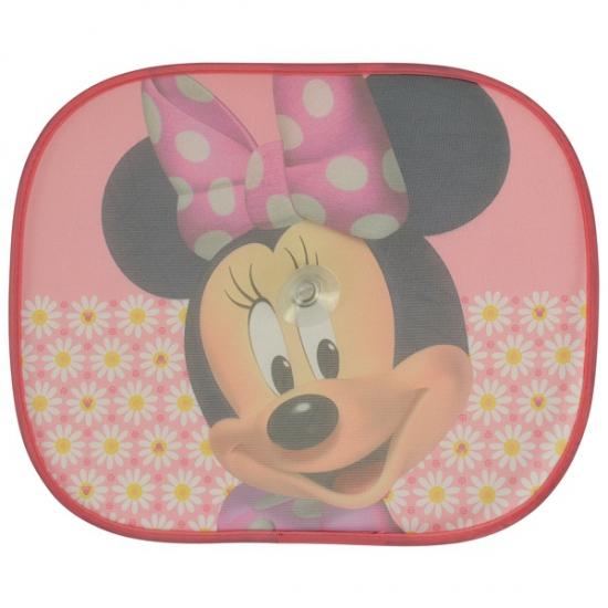 Minnie Mouse roze zonneschermen 2 stuks