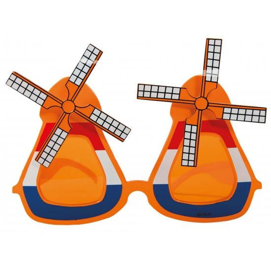Molen brillen oranje