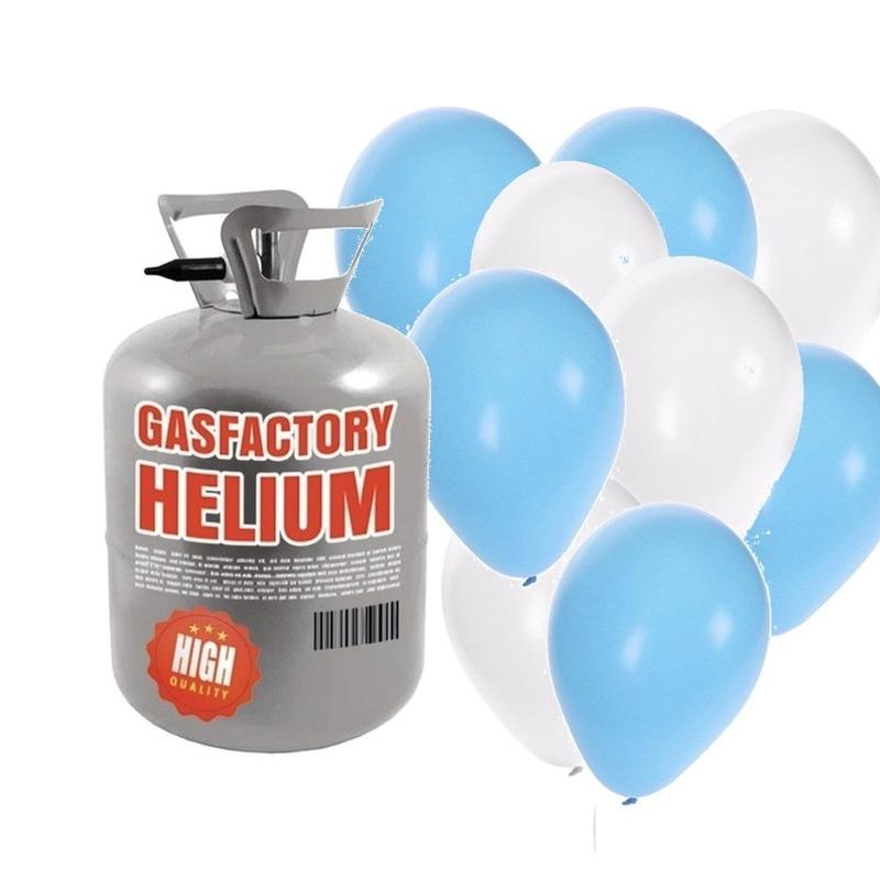 Oktoberfest Helium tank met 50 Oktoberfest ballonnen