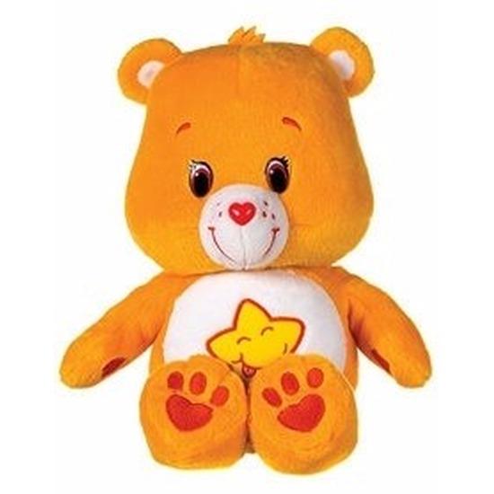 Oranje Care Bears knuffel 22 cm