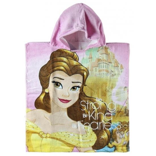 Prinses Belle kinderponcho