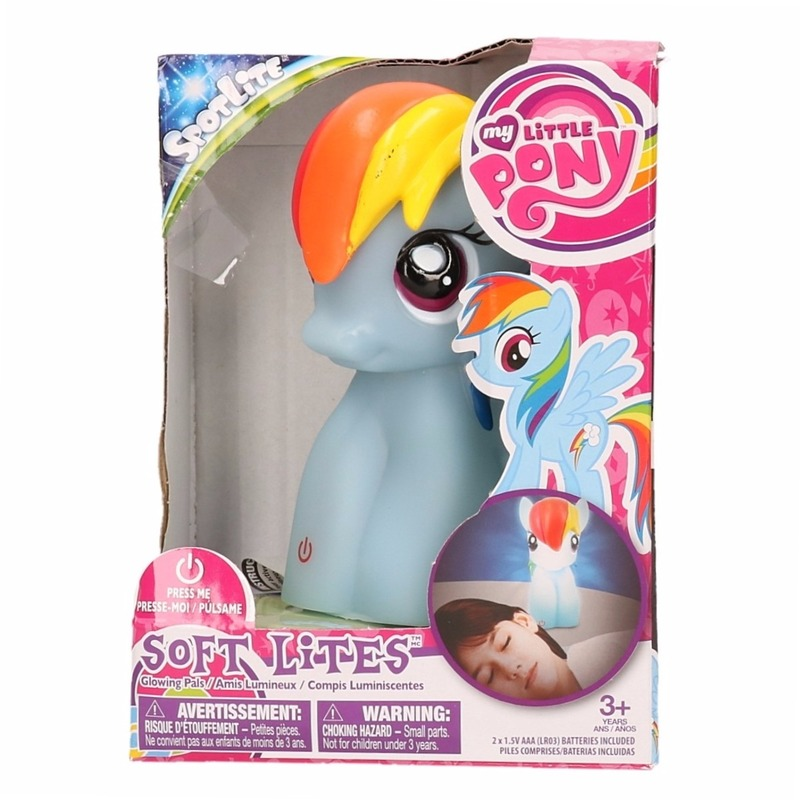 Soft Lite nachtlampen blauwe My Little Pony 15 cm