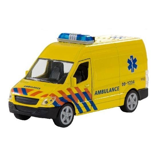 Speelgoed ziekenwagens met licht en geluid