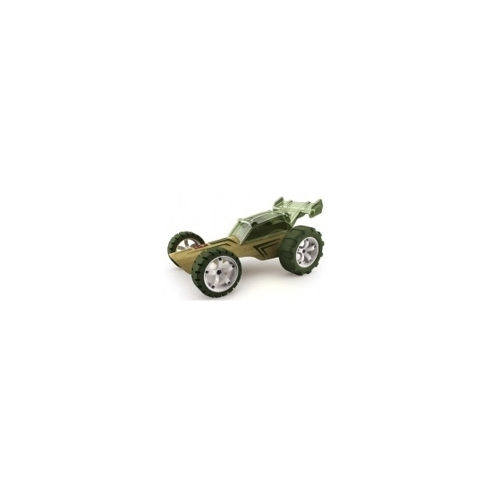 Speelgoedvoertuigen donkergroene bamboe racebuggies 8 cm