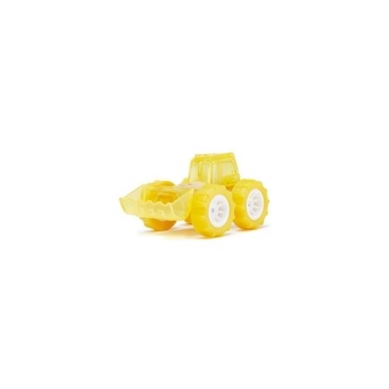 Speelgoedvoertuigen gele bamboe bulldozers 8 cm