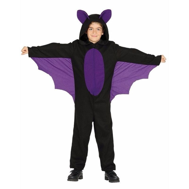 Vleermuis halloween-carnaval dierenpak kinderen