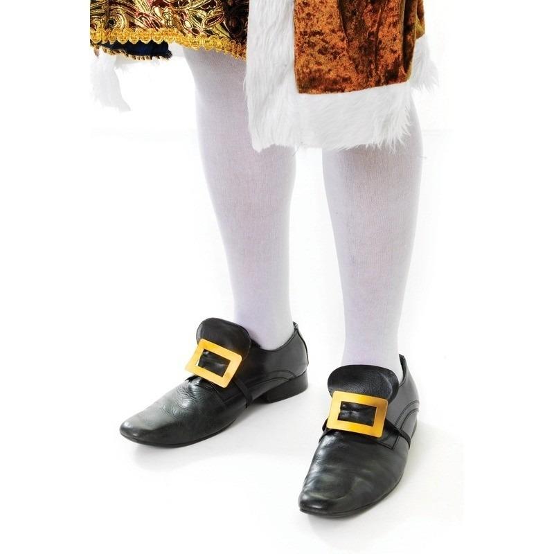 Witte sokken voor onder lederhose