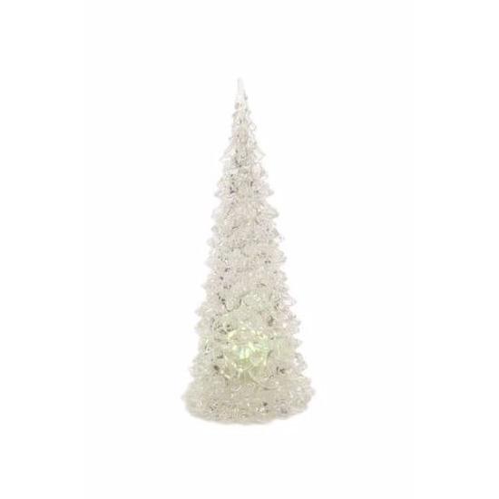 Woonkamer deco LED kerstboom 23 cm