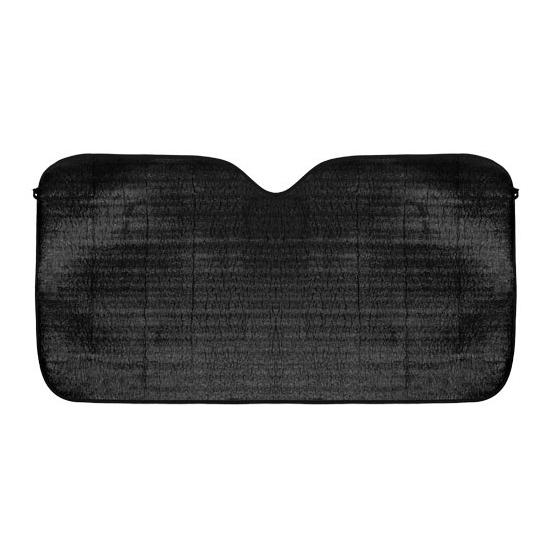 Zwart autoscherm voor de zon